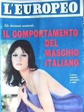 L' EUROPEO n°41 1965 Stefania Sandrelli - Jane Holzer - Ira Furstenberg  [C75]
