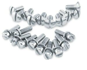 36-64 Harley Panhead Colony Primary Cover Hardware Kit Chrome 78513