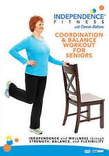 Independence Fitness: Coordination  Balance Workout for Seniors (DVD, 2016)