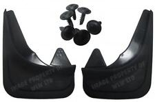 Rubber Moulded Universal Fit FRONT MUDFLAPS Mud Flaps Alfa Romeo 145,146,155,156