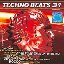 = TECHNO BEATS 31 -CASCADA,C-BOOL,MILK INC. / CD sealed