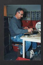BLOIS (41) CENTRE de TRI POSTAL , FACTEUR à l'OBLITERATION POSTALE en 1997