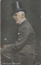 POSTCARD   POLITICAL Sir Squire Bancroft