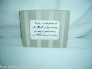 INSPIRATIONAL FAMILY & LOVE PLAQUES by Hallmark  (NWT)