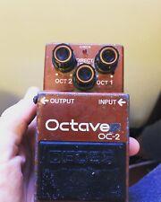 More details for boss oc 2 octaver pedal