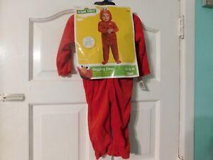 Sesame Street Giggling Elmo Costume 12-18 months New