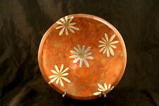 Mixed Metals Made in Mexico Rare Metales Los Castillo Daisy Bowl