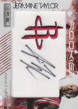 2009-10 Rookies & Stars Longevity Ruby Rockets Card #158 Jermaine Taylor AU /49