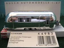 Busch (HO 1:87)  Airstream Trailer #44982