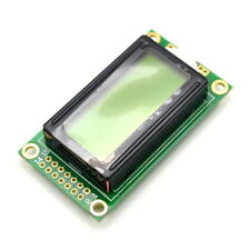 0802A character type LCD screen 8 * 2 lines yellow screen LCD screen LCD Winder