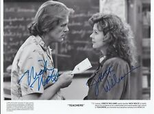 Nick Nolte and Jobeth Williams - Teachers signed photo