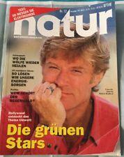 Natur - Das Umweltmagazin Nr. 12 Dezember 1991  Umwelt-Aktivist Robert Redford