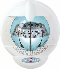 NAUTOS 64423 - CONTEST 101 COMPASS -VERTICAL MOUNT-WHITE COMPASS WITH WHITE CARD