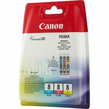 Original Canon CLI-8 Multipack 3er Set PIXMA ip4500 uvm. 0621B029 Angebot!!!