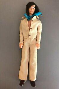 1976 NOW LOOK Ken Doll Mod Long hair original Outfit Vintage Barbie boyfriend