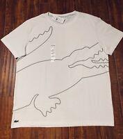 NWT ~ LACOSTE SPORT Mens Big Crocodile Logo T-Shirt - Size 8 (3XL)