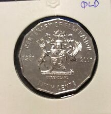 2001 50 cent  unc coin - Centenary of Federation - Queensland