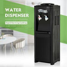 5 Gallon Top Loading Electric Freestanding Hot/Cold Water Cooler Dispenser Black