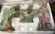"Seraphim Nativity KINGS 3 pc 7"" Gasper, Melchior, Balthazar  //New In Box//"