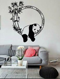 Sleeping Panda bedroom decoration wall sticker