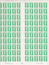 BRIAT  2,20 F- Feuille du 28/12/92  - Tirage 1 - RGR-1 - variété : SANS PHO -