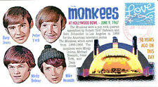 """COVERSCAPE computer generated 50th """"Monkees"""" at Hollywood Bowl event cover"""