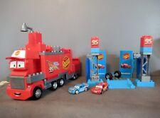 Camion/Garage Disney PIXAR CARS MACK  - MEGA BLOKS - Flash Mc Queen