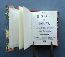 A Book of Nouns, or, Things which may be seen (Limited Edition Facsimile)