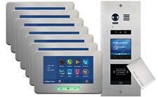 VOSPER 7 Apartments Proximity Reader ALECTO Monitors