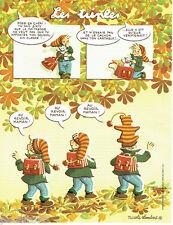 PUBLICITE ADVERTISING 125  2011  NICOLE LAMBERT  les triplés le doudou