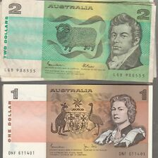 ONE OF EACH 1X ONE DOLLAR  NOTE   AND ONE BY TWO DOLLAR NOTE
