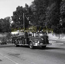 Greystone Park / Morris Plain NJ Fire Engine - Vintage Truck Negative