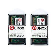 2gb (2x1gb) Qumox Pc2700 SODIMM Ddr333 DDR 333 Notebook RAM WG