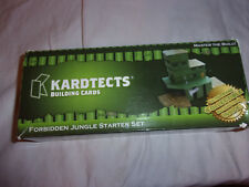 Kardtects Building Cards Master Build Forbidden Jungle Starter Set Engineering
