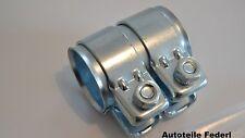 Rohrverbinder Abgasanlage 50 mm x 80 mm  BMW / FIAT / RENAULT