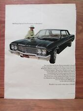 Vintage 1965 Buick Special V-6 Large Magazine Print Advertisement Auto Ad