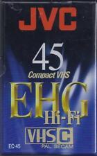 JVC 45 Compact VHS EHG Hi-Fi