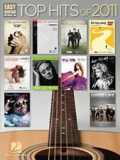 """""""Top Hits Of 2011"""" Music Book For Easy Guitar With Notes & Tab-Brand New On Sale"""