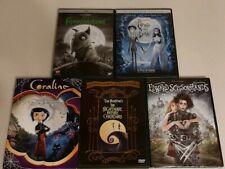 Frankenweenie/Corpse Bride/Coraline/Nightmare Before Christmas/Edward Sc.(Dvd)