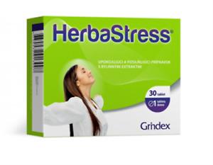 Herba Stress Grindex 30 tablets 1 month