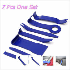 7pcs Car Door Trim Audio Stereo GPS Panel Moulding Pro Removal Install Pry Tools