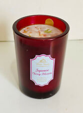 NEW BATH & BODY WORKS WHITE BARN SCENTED CANDLE - JAPANESE CHERRY BLOSSOM - SALE