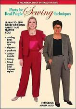 Pants for Real People: Sewing Techniques by Marta Alto (DVD, 2007)