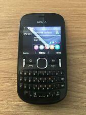 Nokia Asha 201 - Black - Smartphone - Vodafone - Tested