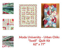 RARE NEW Moda University Quilt Kit - SWELL - Urban Chicks  - Free Ship