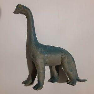 1985 Blue Imperial Brontosaurus Dinosaur 8 Inches Tall