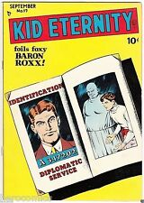 Golden Age KID ETERNITY #17 Quality Comics Group 9.0 VF/NM