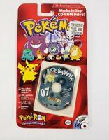 Pokemon Pokerom Squirtle #07 PC CD-ROM New Sealed MAC Windows 95/98