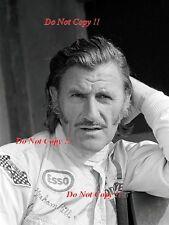 Graham Hill Brabham F1 retrato italiano Grand Prix 1971 fotografía