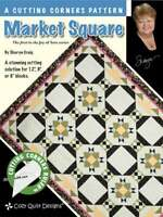 Market square - a cutting corners pattern - cozy quilt design